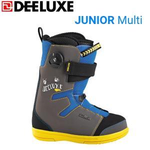 ディーラックス JUNIOR キッズスノーブーツ スノーボード スノボー 靴 19cm 20cm 21cm Multi DEELUXE|54tide