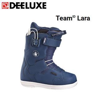 ディーラックス DEELUXE チームアイディー ララ レディース スノーブーツ スノーボード スノボー 靴 22.5cm navy TeamID Lara|54tide