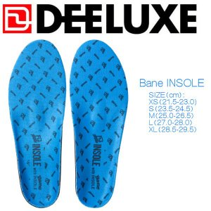 DEELUXE ディーラックス Bane Insole スノーボードブーツ専用インソール 熱成型|54tide