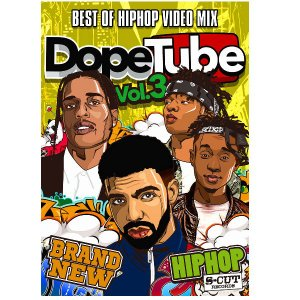 DopeTube Best Of Hip Hop Video Mix- Vol.3 ヒップホップ DVD 90分|54tide