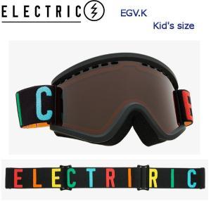 ELECTRIC エレクトリック EGV.K GOGGLE COLOR WORDMARK キッズ スノーゴーグル スノーボード アジアンフィット EG1917103 54tide