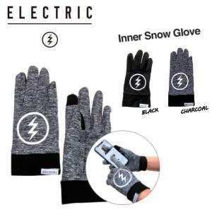 エレクトリック ELECTRIC INNER SNOW GLOVE  インナー スノーグローブ  手袋 スノーボード スキー ウィンタースポーツ|54tide
