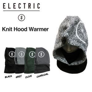 エレクトリック ELECTRIC KNIT HOOD WARMER  ネックウォーマー フードウォーマー バラクラバ フェイスマスク スノーボード スキー|54tide