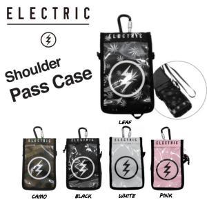 エレクトリック ELECTRIC SHOULDER PASS CASE メンズ レディース ショルダー パスケース カード入れ  チケットホルダー スノーボード 5カラー|54tide