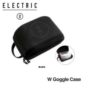 エレクトリック ELECTRIC W GOGGLE CASE  ゴーグルケース  ゴーグルスタッシュ スキー スノーボード カラーBLACK|54tide