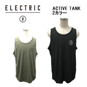 エレクトリック ELECTRIC ACTIVE TANK メンズ アクティブタンク スポーツ ジム スケートボード アウトドア タンクトップ|54tide