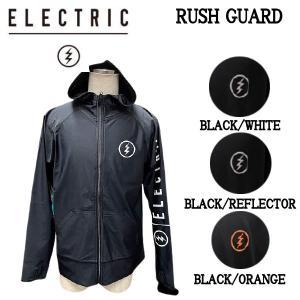 エレクトリック ELECTRIC RUSH GUARD メンズ ラッシュガード  プール  海水浴 ...