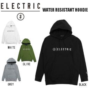 エレクトリック  ELECTRIC  2020秋冬 WATER RESISTANT HOODIE フード ウォータープルーフ パーカー E21U01 4カラー【正規品】|54tide