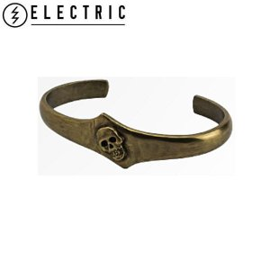 ELECTRIC エレクトリック Metal Skull Cuff メンズメタルスカルカフ リストバンド 袖止め ドクロ 骨 ANB E15SA25 54tide