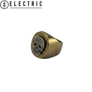 ELECTRIC エレクトリック Skull Ring メンズスカルリング 指輪 髑髏 ドクロ がい骨 カラーANB E15SA27 54tide