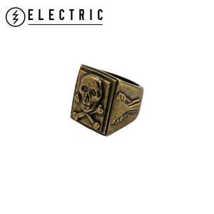 ELECTRIC エレクトリック Skull Bones Ring メンズスカルボーンズリング 指輪 ドクロ がい骨 カラーANB E15SA28 54tide