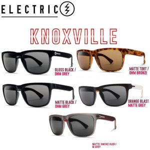 ELECTRIC エレクトリック 2017春夏 KNOXVILLE メンズ サングラス スケートボード|54tide