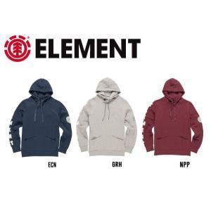 ELEMENT エレメント メンズプルオーバーパーカー 長袖 3カラー S-L 54tide