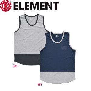 ELEMENT エレメント メンズノースリーブTシャツ タンクトップ ティーシャツ TEE スケートボード ドライフィット 吸汗速乾|54tide