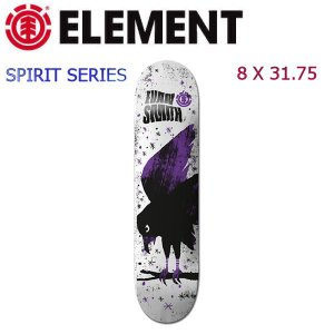 エレメント ELEMENT エヴァン スケートボードデッキ スケボー 8×31.75 SPIRIT SERIES Evan Spirit|54tide