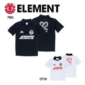 エレメント ELEMENT メンズ半袖ポロシャツ シャツ POLO S・M・L FBK OTW BLAZED TEE 54tide