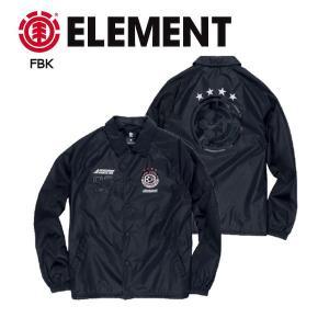 エレメント ELEMENT メンズコーチジャケット ナイロンジャケット アウター S・M・L FBK BLAZED COACH JKT|54tide