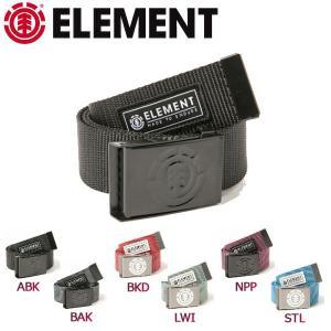 エレメント ELEMENT メンズベルト ウェビングベルト ガチャベルト 6カラー BEYOND|54tide