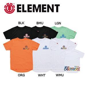 エレメント ELEMENT キッズ 半袖Tシャツ ティーシャツ ボーイズ ガールズ 130-160cm 6カラー 1992 ROUND SS BOY|54tide
