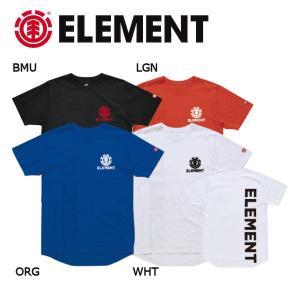 エレメント ELEMENT キッズ 半袖Tシャツ ティーシャツ ボーイズ ガールズ 130-160cm BLK OBL WHT FRAME SS BOY|54tide