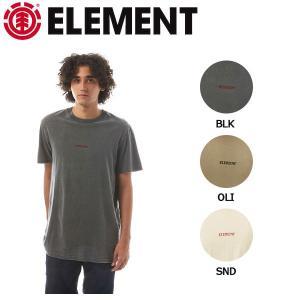 エレメント ELEMENT メンズ 半袖 Tシャツ ティーシャツ トップス M・L・XL BLK・OLI・SND DAWN SS|54tide