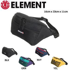 エレメント ELEMENT メンズ ショルダーバッグ ボディバッグ バック 斜めがけバッグ 16cm x 33cm x 11cm 4カラー SHOULDER BAG 54tide