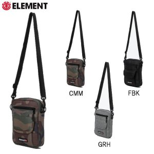エレメント ELEMENT  ROAD ロード ミニショルダーバッグ サコッシュ メンズ バッグ  かばん 3カラー 54tide