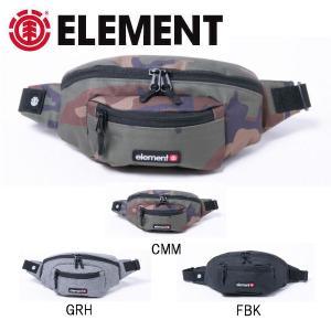 エレメント ELEMENT  メンズ POSSE HIP SACK  3L ヒップサック ウエストバッグ ウエストポーチ  3カラー 54tide