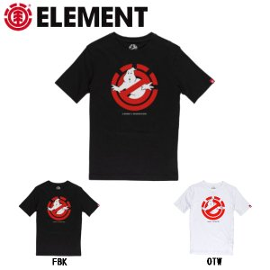 エレメント ELEMENT GHOSTBUSTERSxELEMENT コラボ GHOSTLY SS BOY キッズ Tシャツ TEE スケートボード|54tide