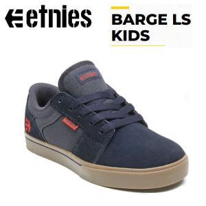 エトニーズ etnies BARGE LS KID バージ キッズ スケートシューズ スケシュー 靴 スニーカー スケートボード 子供用|54tide
