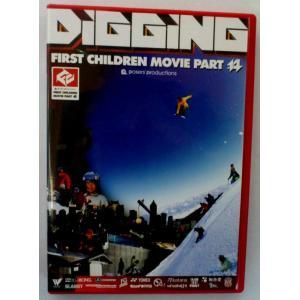 ファーストチルドレン FIRST CHILDREN MOVIE part14 DIGGING スノーボードDVD|54tide