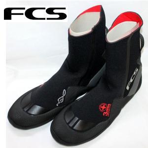FCS エフシーエス ROUND TOE COLD WATER BOOTIE 3mm ラウンドトゥー サーフブーツ ウィンター サーフィン|54tide