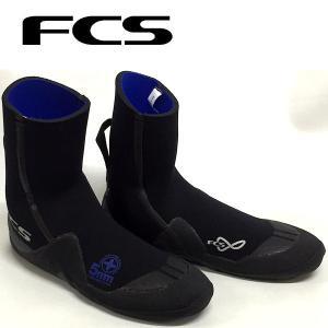 FCS エフシーエス ROUND TOE COLD WATER BOOTIE 5mm ラウンドトゥー サーフブーツ ウィンター サーフィン|54tide