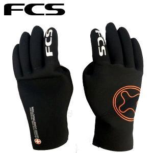 FCS エフシーエス Winter Gloves サーフグローブ ラバー素材 サーフィン 2mm S-L ウインターグローブ|54tide
