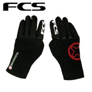 FCS エフシーエス Winter Gloves サーフグローブ ラバー素材 サーフィン 3mm XS-L ウインターグローブ|54tide