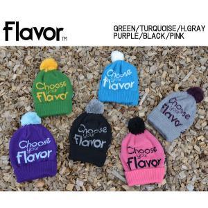 フレーバー FLAVOR 2013-2014 EMMA ポンポン付きニット帽 帽子 ビーニー pon beanie メンズ レディース|54tide