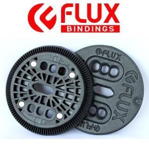 FLUX BINDING フラック ビンディング バートンEST板用 2ホール ディスク プレート ...