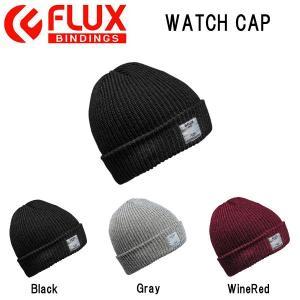 フラックス FLUX メンズ レディース ニット帽 ビーニー 帽子 スノーボード WATCH CAP|54tide