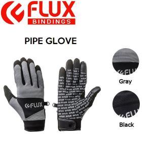 フラックス FLUX メンズ レディース パイプグローブ スノーグローブ スノーボード S-L 2カラー PIPE GLOVE|54tide