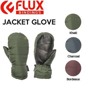 フラックス FLUX メンズ レディース ミトングローブ スノーグローブ ミトン スノーボード S-L 3カラー JACKET GLOVE|54tide