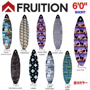 FRUITION フリュージョン マイクロファイバーボードケース  サーフボードケース ソフトケース ショートボード用 60 Short カバー サーフィン|54tide