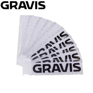 【GRAVIS】グラビス2015春夏/GV WORD STICKER ロゴカッティングステッカー/2カラー【日本正規品】|54tide