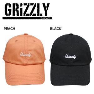 グリズリー GRIZZLY メンズ キャップ ストラップバック 帽子 スケートボード ストリート LATE TO THE GAME DAD HAT|54tide