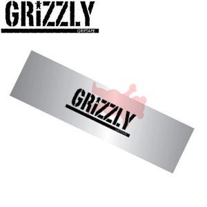 グリズリー GRIZZLY デッキテープ グリップテープ スケートボード スケボー sk8 skateboard Clear Stamp Griptape|54tide