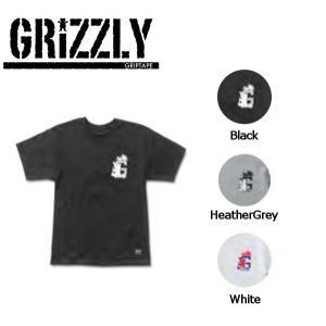 グリズリー GRIZZLY メンズ 半袖Tシャツ TEE ティーシャツ スケートボード S・M・L  3カラー Hydrated G Tee|54tide