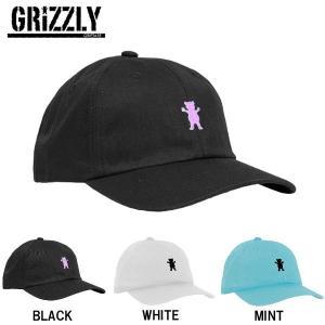 グリズリー GRIZZLY メンズ レディース ストラップバック スナップバック ローキャップ 帽子 OG BEAR STRAPBACK|54tide