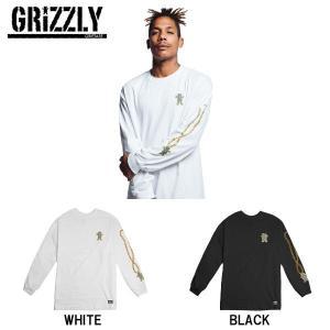 グリズリー GRIZZLY メンズ ロンT 長袖 Tシャツ ティーシャツ トップス ロングスリーブ CHAIN L/S TEE|54tide