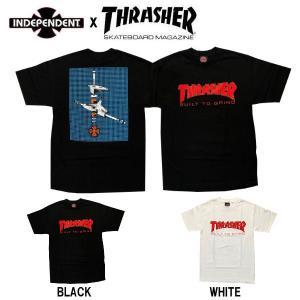 インディペンデント INDEPENDENT THRASHER スラッシャー コラボ メンズ 半袖Tシャツ  ティーシャツ トップス BTG S/S TEE 54tide