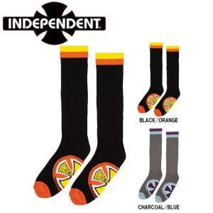 インディペンデント INDEPENDENT CHROMA SOCKS ソックス ロングソックス 靴下 スケートボード ストリート スケボー ONE SIZE|54tide