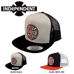 インディペンデント INDEPENDENT TRUCK CO MESH TRUCKER メンズ メッシュキャップ スナップバック 帽子 ストリート スケートボード|54tide